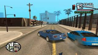 GTA San Andreas Gameplay on GeForce4 MX 440 AGP 8X