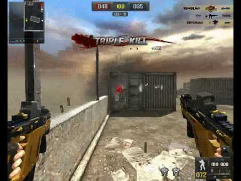 Point Blank Gameplay Kriss S.V gold