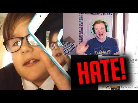 REACTING TO HATER VIDEOS!!