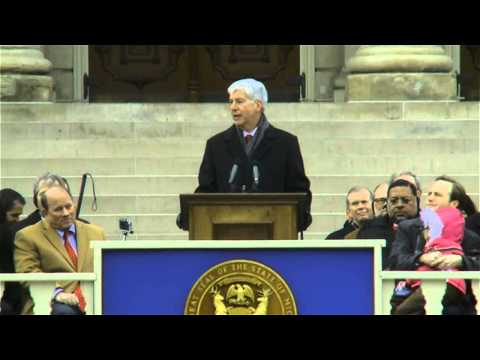 Governor Rick Snyder's 2015 Inauguration