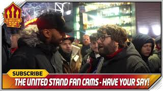 PHIL JONES OUT! Manchester United 2-1 Brighton   Fancams