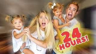 24 Hours with TWIN babies while PREGNANT!!!