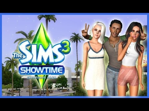 Let's Play: The Sims 3 Showtime - (Part 1) - Let There Be Sims