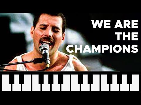 How to Play: We are the Champions - Queen (easy melodica)