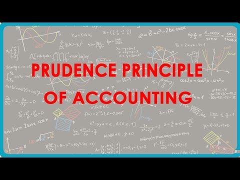 1084. Prudence Principle of Accounting