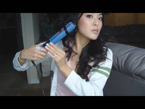 Tutorial How To Curl Hair With Flat Iron Youtube