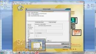 Aplikasi SAS 2015 Membuat SPM LS Kontraktual Membuat supplier dan data kontrak