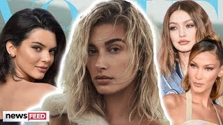 "Hailey Bieber REVEALS She Felt ""Less Than"" BFFs Kendall Jenner & Hadid Sisters In Modeling Industry"