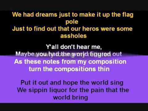 J. Cole-See World w/ Lyrics on Screen