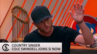 Cole Swindell Talks Mike Trout, Atlanta