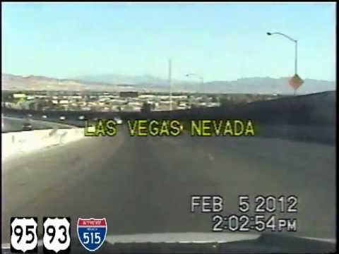 Reno NV to Las Vegas NV Time Lapse Drive.AWESOME!
