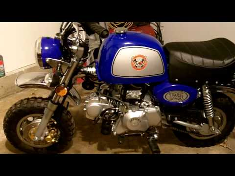Mini Rover 125 Honda Z50 Clone First Look Walk Around