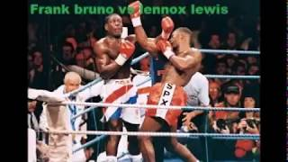 The downfall of biggest boxing champion Frank bruno