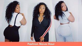 Fashion Nova Curvy Girl Try-On Haul | Curly Monroe