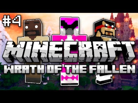 Minecraft: Wrath of the Fallen w/ Mark and Nick Part 4 - Lord Frozenberg