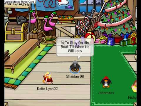 Club Penguin The Relly Trouth Of How To Get On RockHopper Island