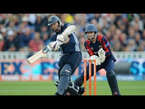 Highlights from the Friends Life t20 semi-final between Northants Steelbacks and Essex Eagles. Chasing 169 to win, Northants were indebted to a blistering 50...