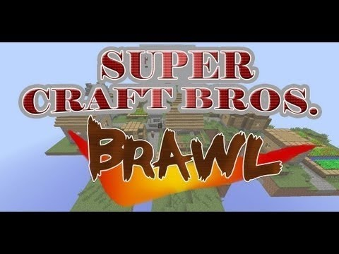 Minecraft: Super Craft Bros Brawl - PvP Mini-Game