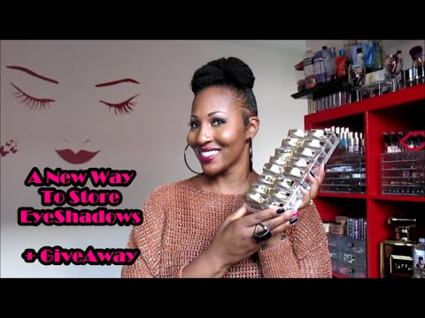 Makeup Organization Ideas + Giveaway