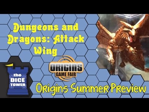 Origins Summer Preview: Dungeons and Dragons Attack Wing