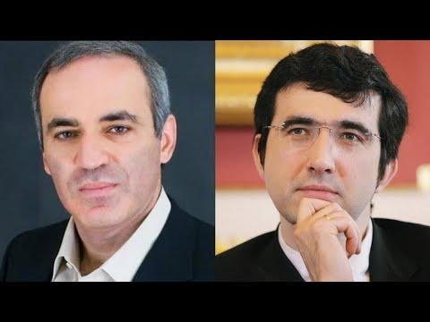 Шахматы. Крамник против Каспарова: ошеломляющая жертва ферзя!