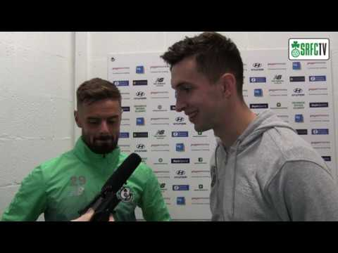 Greg Bolger & Neil Farrugia | Post Match Interview v Finn Harps | 11th October 2019