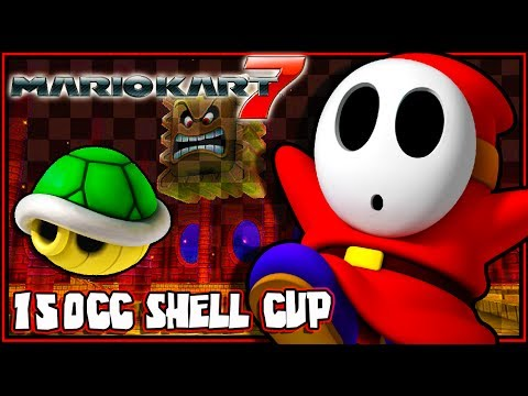 Mario Kart 7 - (1080p) Part 5 - Shell Cup 150CC
