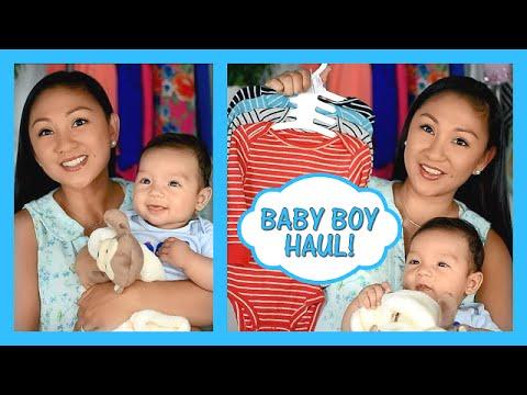 Baby Boy Fall Haul with Liam!