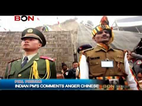 Indian PMs Comments Anger Chinese