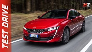 NEW PEUGEOT 508 SPORT ENGINEERING 2019 - FIRST CONCEPT TEST DRIVE