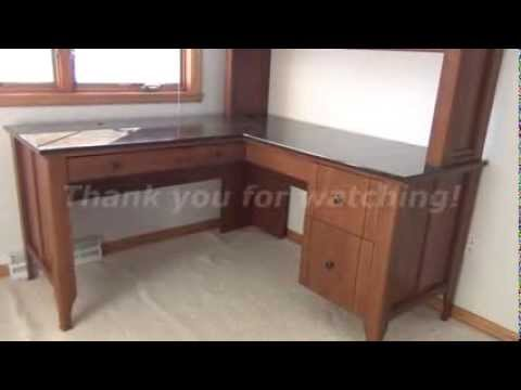 The Sh Sauder Woodworking Desk