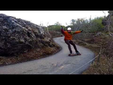Original Skateboards Vecter 37 in Iceland with Aleix Gallimo