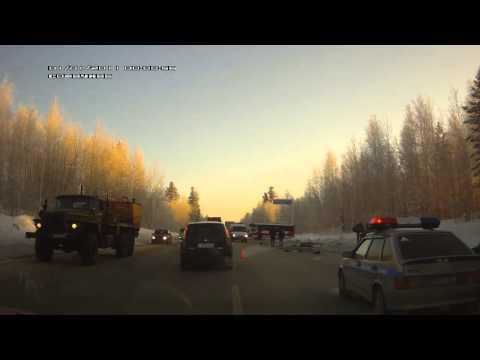 авария мегион- нижневартовск