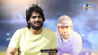 Actor Kartikeya plays iB Cricket!