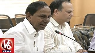 CM KCR Holds Review Meet With Officials Over Irrigation Projects In State | Hyderabad