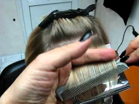 Как сделать мелирование с помощью расчески для волос