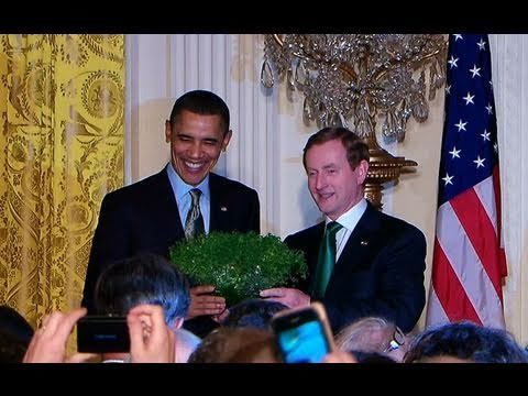 St. Patrick's Day at the White House
