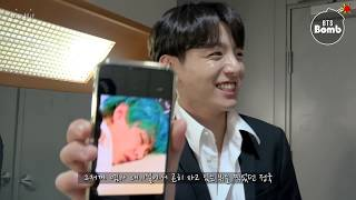 [BANGTAN BOMB] JK taking a photo of members sleeping - BTS (방탄소년단)