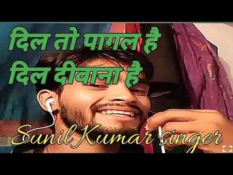 Dil To Pagal Hai Dil Dewana Hai Udit Narayan And Lata Mangeshkar Cover By Sunil Kumar