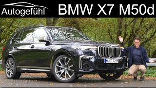 BMW X7 M50d FULL REVIEW - Autogefühl