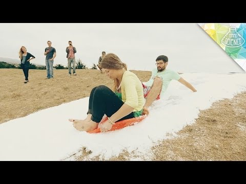 MAKING FAKE SNOW - Hard Science