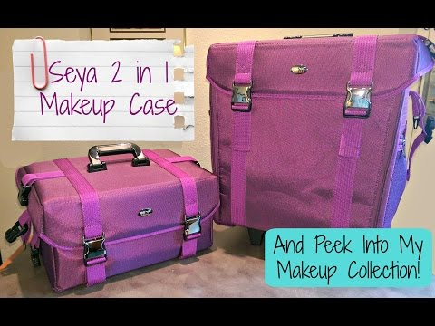 Seya 2 in 1 Makeup Case + Makeup Collection Overview