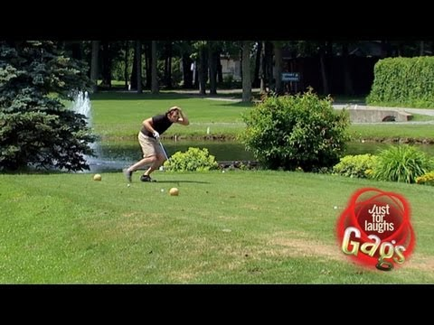 Golf Balls Raining - Golfeső
