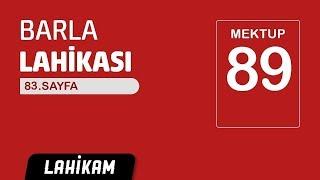 Hasan Yenidere - Barla Lahikası - Sh83 - Mektup 89 - Mir'at-ı Üstaddan Kur'an Görünür Daim