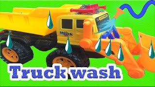 Car Wash for Children  - Dump Truck Videos for Kids - Toy Car Wash | Games for Toddlers