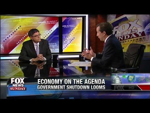 Jack Lew Grilled by Chris Wallace on Phony Scandals & Economy - Fox News Sunday - 7-28-13