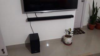01. How to install soundbar at home|| Samsung harman Kardon Q60R||