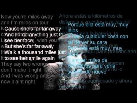 Tyga Ft Chris Richardson - Far Away Lyrics Sub Español video