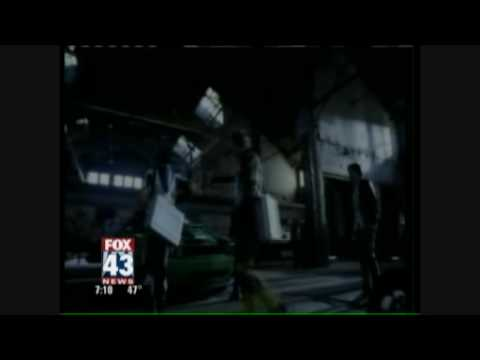 Nathan Keyes From Ben 10 On Fox43 Morning News video