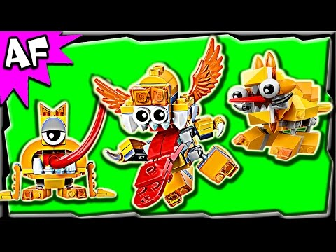 Lego Mixels LIXERS Series 5 Spugg, Turg, Tungster Stop Motion Build Review 41542 41543 41544